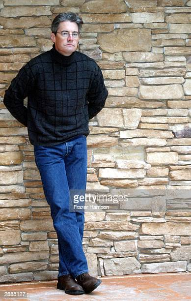 Actor Kyle MacLachlan of the film Touch of Pink poses for portraits during the 2004 Sundance Film Festival January 20 2004 in Park City Utah