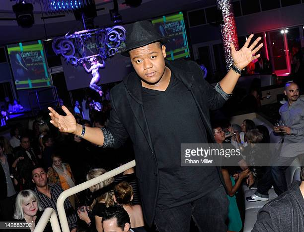Actor Kyle Massey attends the after party for the grand opening of Dancing With the Stars Live in Las Vegas at the New Tropicana Las Vegas April 13...