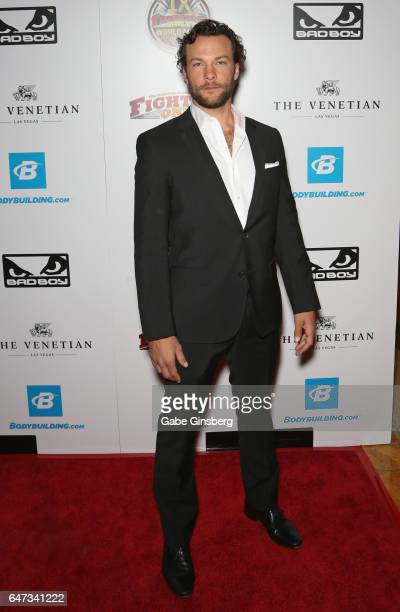 Actor Kyle Schmid attends the ninth annual Fighters Only World Mixed Martial Arts Awards at The Palazzo Las Vegas on March 2 2017 in Las Vegas Nevada