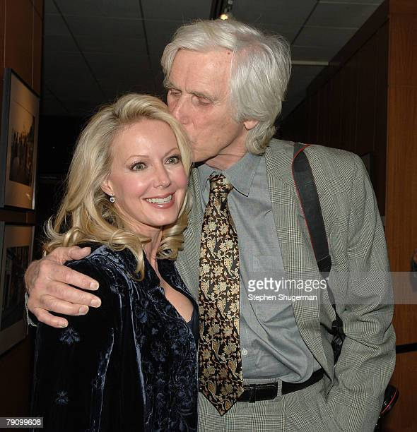 Actor Kym Kareth and photographer Douglas Kirkland attend the Grand Opening of the Academy of Motion Picture Arts and Sciences Winter 2008...