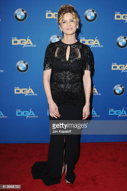 Actor Kyra Sedgwick attends the 70th Annual Directors Guild Of America Awards at The Beverly Hilton Hotel on February 3 2018 in Beverly Hills...