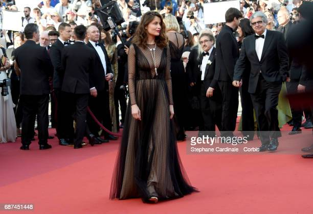 Actor Laetitia Casta attends the 70th Anniversary of the 70th annual Cannes Film Festival at Palais des Festivals on May 23 2017 in Cannes France
