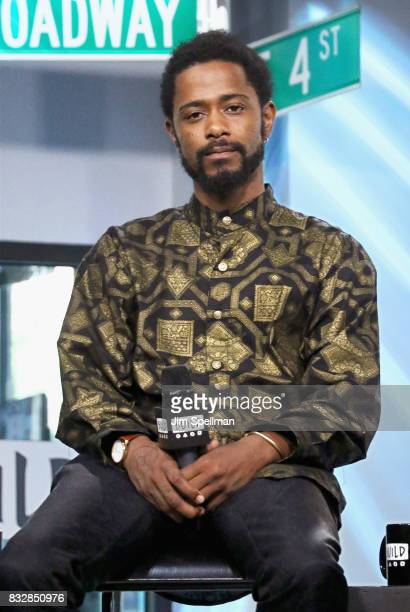 Actor LaKeith Stanfield attends Build to discuss Crown Heights at Build Studio on August 16 2017 in New York City