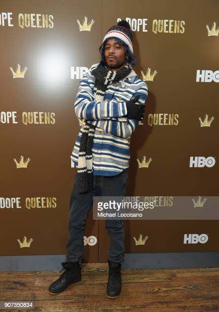 Actor Lakeith Stanfield attends HBO's '2 Dope Queens' Winter Soiree during Sundance at Riverhorse On Main on January 19 2018 in Park City Utah