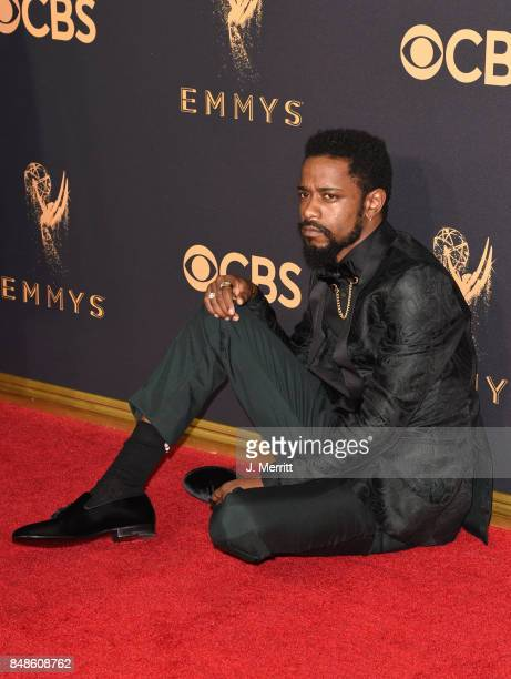 Actor Lakeith Stanfield attends the 69th Annual Primetime Emmy Awards at Microsoft Theater on September 17 2017 in Los Angeles California