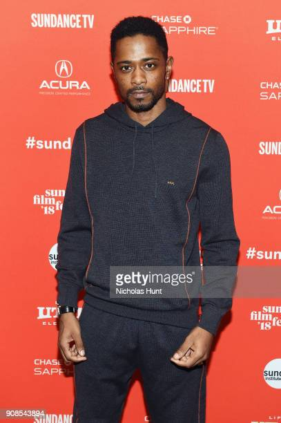 Actor Lakeith Stanfield attends the Come Sunday Premiere during the 2018 Sundance Film Festival at Eccles Center Theatre on January 21 2018 in Park...