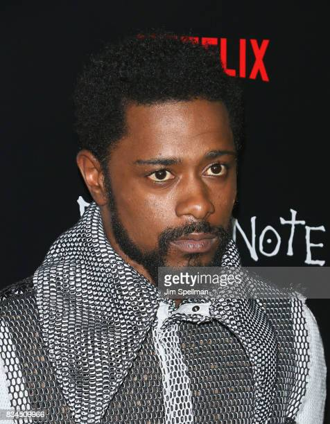 Actor LaKeith Stanfield attends the Death Note New York premiere at AMC Loews Lincoln Square 13 theater on August 17 2017 in New York City