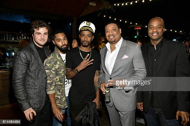 Actor Lakeith Stanfield comedian Cedric Yarbrough and guests attend People's Ones to Watch event presented by Maybelline New York at EP LP on October...