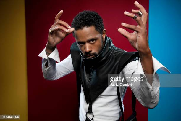 Actor LaKeith Stanfield from the film Death Note is photographed in the LA Times photo studio at ComicCon 2017 in San Diego CA on July 20 2017 CREDIT...