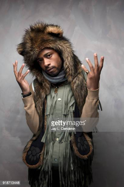 Actor LaKeith Stanfield from the film 'Sorry to Bother You' is photographed for Los Angeles Times on January 20 2018 in the LA Times Studio at Chase...