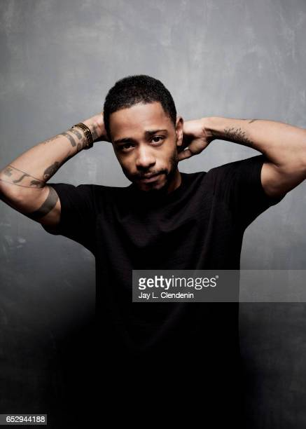 Actor Lakeith Stanfield from the film The Incredible Jessica James is photographed at the 2017 Sundance Film Festival for Los Angeles Times on...