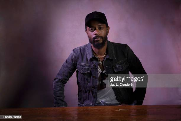 Actor Lakeith Stanfield from 'Uncut Gems' is photographed for Los Angeles Times on September 9, 2019 at the Toronto International Film Festival in...