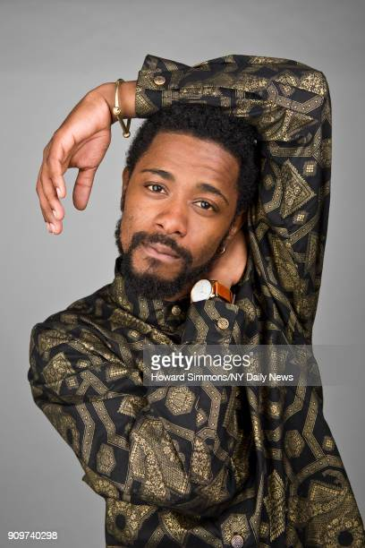 Actor Lakeith Stanfield is photographed for NY Daily News on August 16 2017 in New York City CREDIT MUST READ Howard Simmons/NY Daily News/Contour by...
