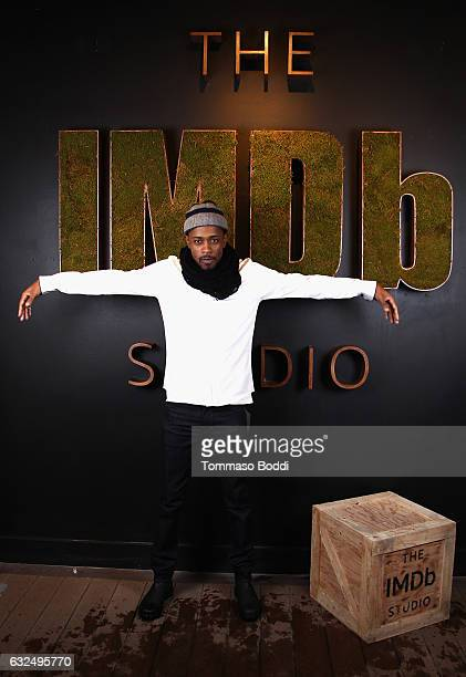 Actor Lakeith Stanfield of 'Crown Heights' attends The IMDb Studio featuring the Filmmaker Discovery Lounge presented by Amazon Video Direct Day Four...