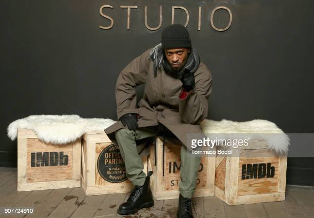Actor Lakeith Stanfield of 'Sorry To Bother You' attends The IMDb Studio and The IMDb Show on Location at The Sundance Film Festival on January 20...