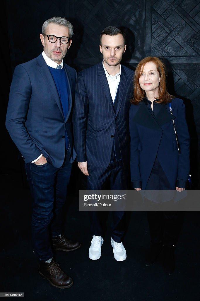 Dior Homme : Backstage - Paris Fashion Week - Menswear F/W 2015-2016