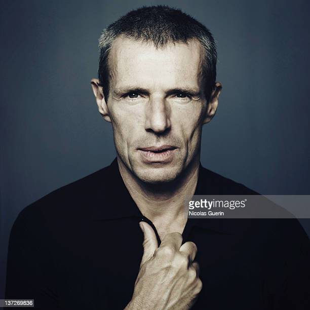 Actor Lambert Wilson is photographed for Self Assignment on September 28 2007 in Venice Italy