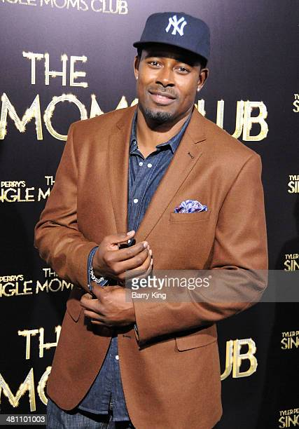 Actor Lamman Rucker arrives at the Los Angeles premiere of 'Tyler Perry's The Single Moms Club' held on March 10 2014 at ArcLight Cinemas Cinerama...