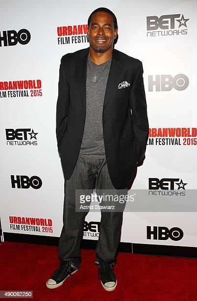 Actor Lamman Rucker attends the 2015 Urbanworld Film Festival at AMC Empire 25 theater on September 25 2015 in New York City