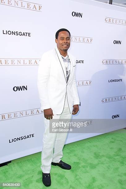 Actor Lamman Rucker attends the premiere of OWN's 'Greenleaf' at The Lot on June 15 2016 in West Hollywood California