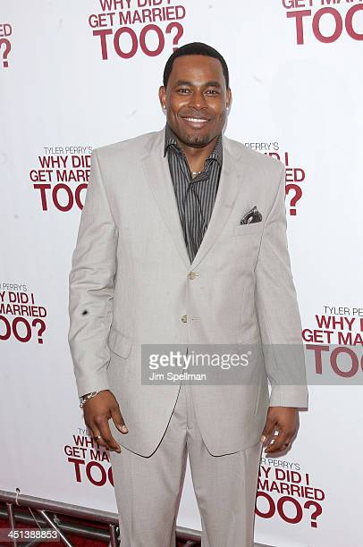 Actor Lamman Rucker attends the premiere of Why Did I Get Married Too at the School of Visual Arts Theater on March 22 2010 in New York City