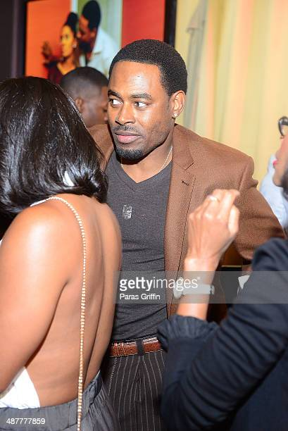 Actor Lamman Rucker attends the 'Where's The Love' Atlanta Sneak Preview Party at Aurum Lounge on May 1 2014 in Atlanta Georgia