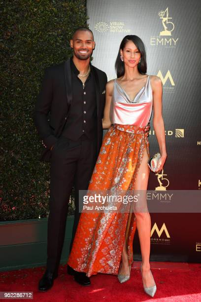 Actor Lamon Archey attends the 45th Annual Daytime Creative Arts Emmy Awards at the Pasadena Civic Auditorium on April 27 2018 in Pasadena California