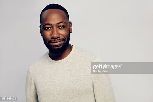 Actor Lamorne Morris from FOX's 'New Girl' poses for a portrait at the FOX Summer TCA Press Tour at Soho House on August 9 2016 in Los Angeles...