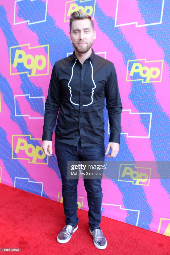Actor Lance Bass attends the premiere of Pop TV's 'Hollywood Darlings' at iPic Theaters on April 6, 2017 in Los Angeles, California.