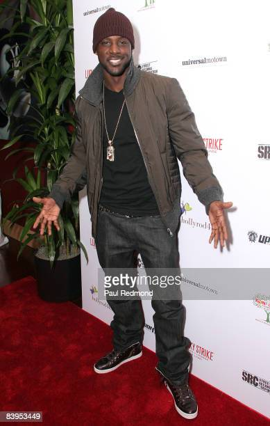 Actor Lance Gross attends Children's Holiday Bowl and Toy Drive benefiting the Children of South LA's youth center A Place Called Home hosted by Akon...