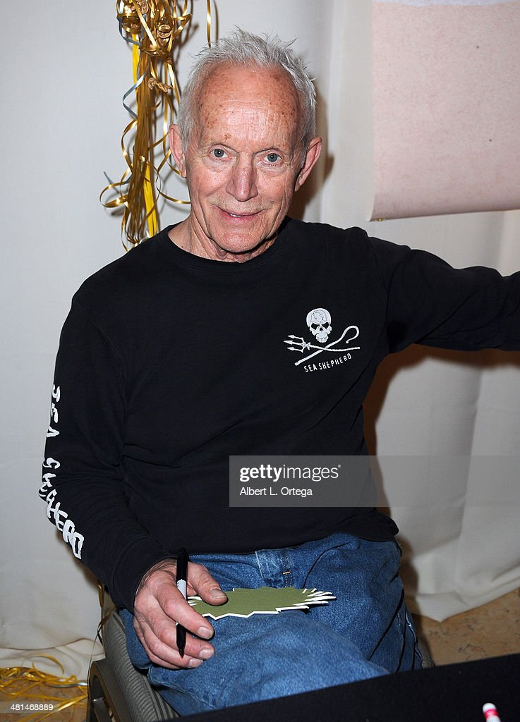 Actor Lance Henriksen attends the 2014 Monsterpalooza: The Art Of Monsters Convention held at Marriott Airport Hotel on March 29, 2014 in Burbank, California.