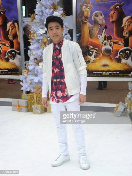 Actor Lance Lim arrives for the Premiere Of Columbia Pictures' 'The Star' held at Regency Village Theatre on November 12 2017 in Westwood California