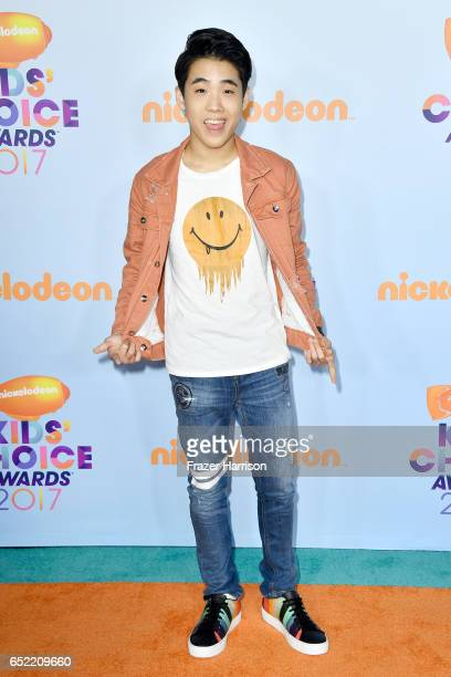 Actor Lance Lim at Nickelodeon's 2017 Kids' Choice Awards at USC Galen Center on March 11 2017 in Los Angeles California
