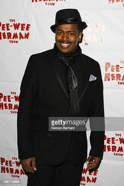 Actor Lance Roberts attends the Broadway opening night after party of The PeeWee Herman Show at Bryant Park Grill on November 11 2010 in New York City