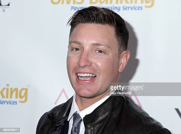 Actor Lane Garrison arriving at the Youth For Human Rights International Celebrity Benefit Event at Beso on March 24 2014 in Hollywood California