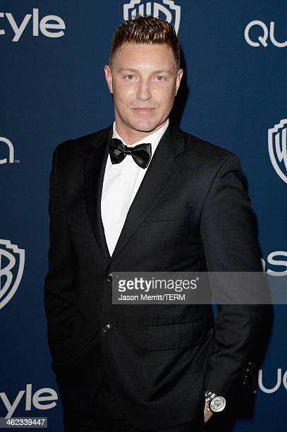 Actor Lane Garrison attends the 2014 InStyle and Warner Bros 71st Annual Golden Globe Awards PostParty on January 12 2014 in Beverly Hills California