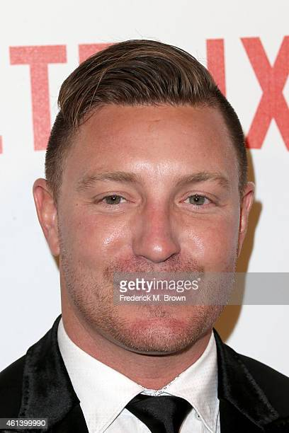 Actor Lane Garrison attends the 2015 Weinstein Company and Netflix Golden Globes After Party at Robinsons May Lot on January 11 2015 in Beverly Hills...