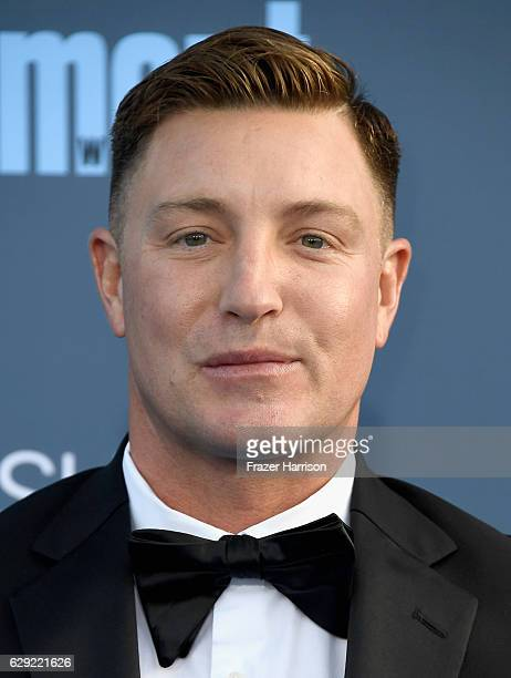 Actor Lane Garrison attends The 22nd Annual Critics' Choice Awards at Barker Hangar on December 11 2016 in Santa Monica California