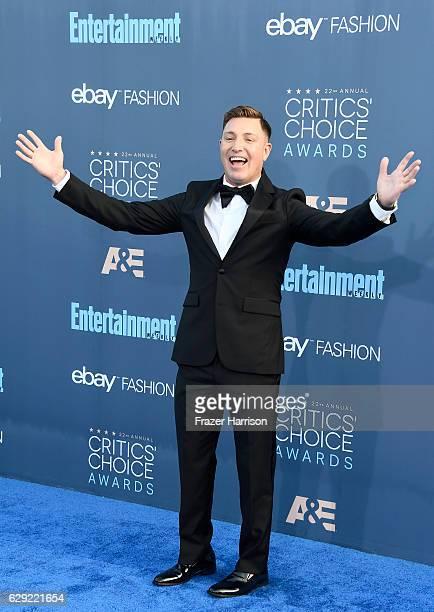 Actor Lane Garrison attends The 22nd Annual Critics' Choice Awards at Barker Hangar on December 11 2016 in Santa Monica California