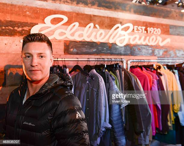 Actor Lane Garrison attends The Eddie Bauer Adventure House - Day 2 - 2014 Park City on January 18, 2014 in Park City, Utah.