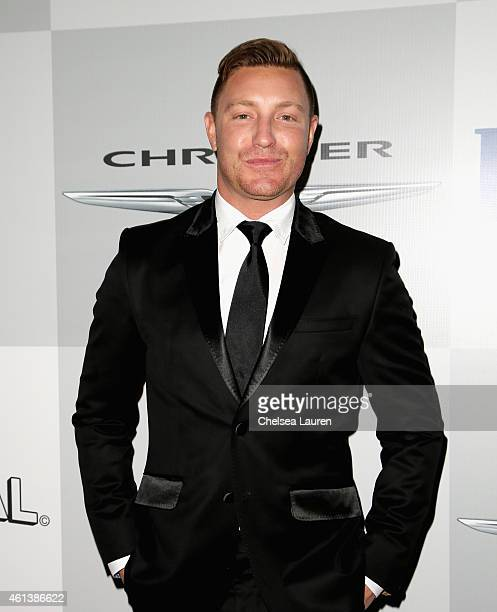 Actor Lane Garrison attends the NBCUniversal 2015 Golden Globe Awards Party sponsored by Chrysler at The Beverly Hilton Hotel on January 11 2015 in...