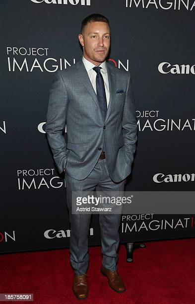Actor Lane Garrison attends the Premiere Of Canon's Project Imaginat10n Film Festival at Alice Tully Hall on October 24, 2013 in New York City.