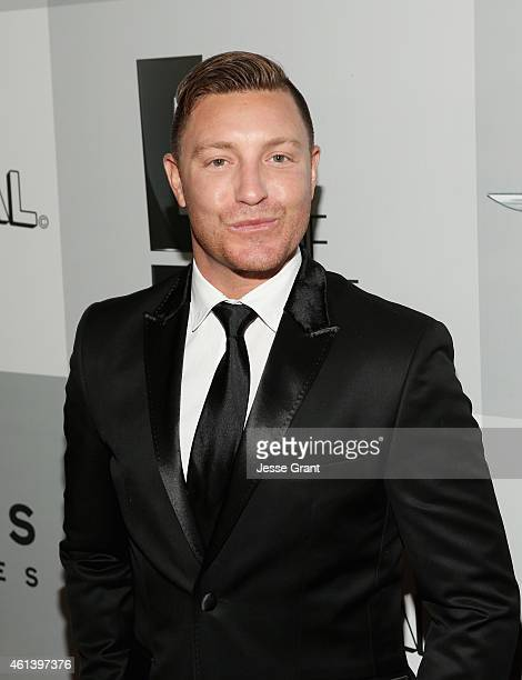 Actor Lane Garrison attends Universal NBC Focus Features and E Entertainment 2015 Golden Globe Awards After Party sponsored by Chrysler and Hilton at...