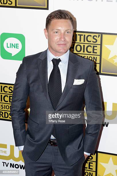 Actor Lane Garrison with MICHELE Watches at 4th Annual Critics' Choice Television Awards at The Beverly Hilton Hotel on June 19 2014 in Beverly Hills...