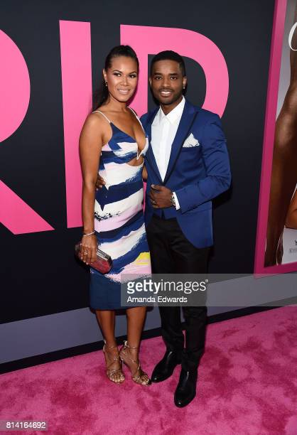 Actor Larenz Tate and actress Tomasina Parrott arrive at the premiere of Universal Pictures' 'Girls Trip' at the Regal LA Live Stadium 14 on July 13...