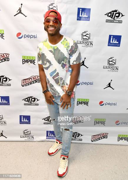 Actor Larenz Tate attends 14th Annual LudaDay Weekend Celebrity Basketball Game at Morehouse College on September 01 2019 in Atlanta Georgia