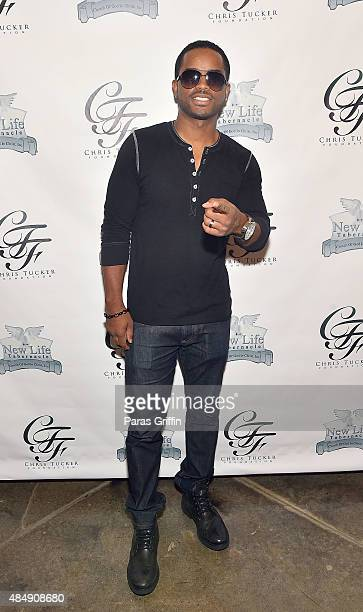 Actor Larenz Tate attends 2nd Annual Chris Tucker Foundation celebrity golf tournament awards dinner at Eagle's Brooke Country Club on August 22 2015...
