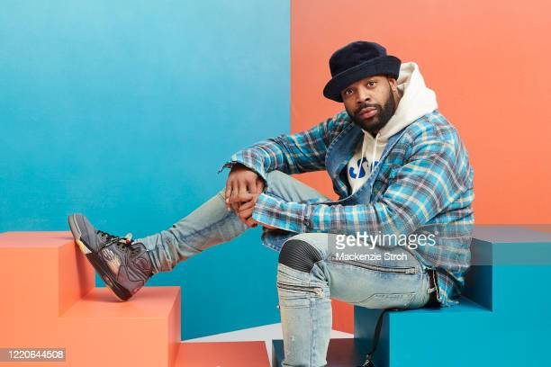 Actor Laroyce Hawkins is photographed for Entertainment Weekly Magazine on February 27, 2020 at Savannah College of Art and Design in Savannah,...
