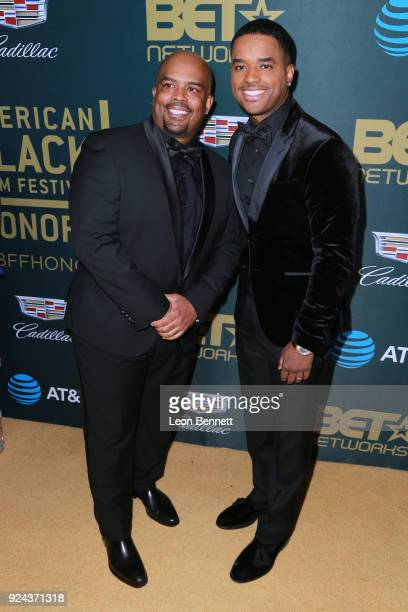 Actor Larron Tate attends the 2018 American Black Film Festival Honors Awards at The Beverly Hilton Hotel on February 25 2018 in Beverly Hills...