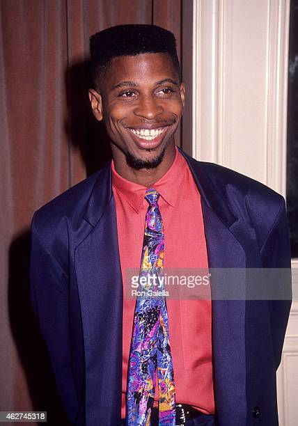 Actor Larry B Scott attends the Center for Population Options' Seventh Annual Nancy Susan Reynolds Awards on November 13 1991 at the Regent Beverly...